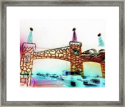Wonderland For All Framed Print by Angelia Hodges Clay