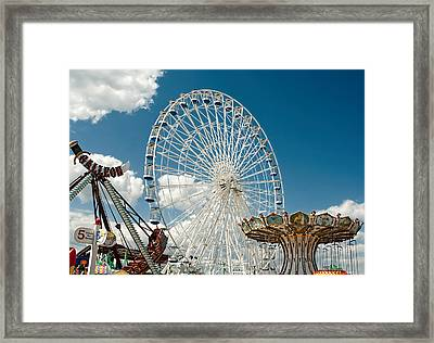 Wonderland Fun Framed Print