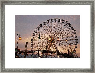 Framed Print featuring the photograph Wonderland Sunset by Dan Myers