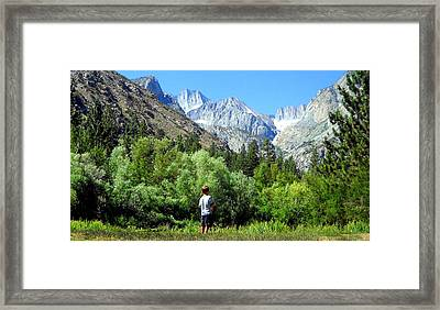 Framed Print featuring the photograph Wonderment by Marilyn Diaz