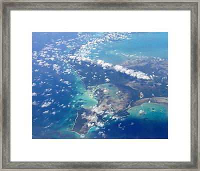 Wonders From Above Framed Print by Laurie Search