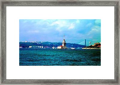 Wonders Of Istanbul Framed Print by Zafer Gurel