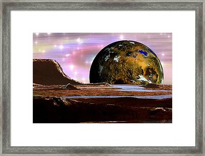 Wonders Of The Universe Framed Print by Mario Carini