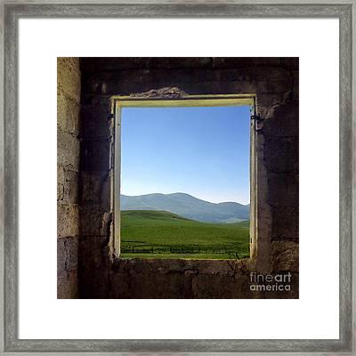 Wondow Framed Print