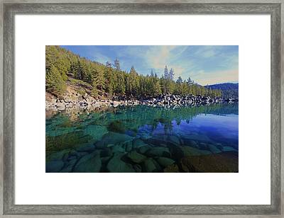 Framed Print featuring the photograph Wondrous Waters by Sean Sarsfield