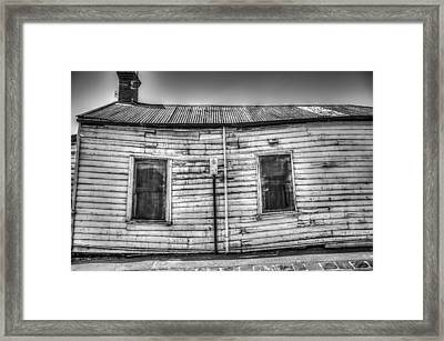 Wonky House Framed Print by Shari Mattox