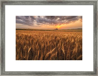 Won't Be Long Framed Print