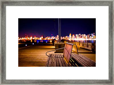 Won't You Join Me? Framed Print