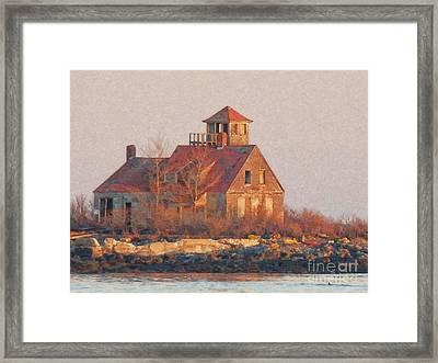 Wood Island Framed Print
