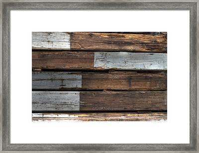 Wood Framed Print by Jane Linders