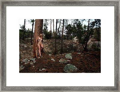 Wood Nymph Framed Print by Joe Kozlowski