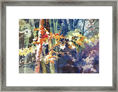 Wood Song Framed Print by Kris Parins