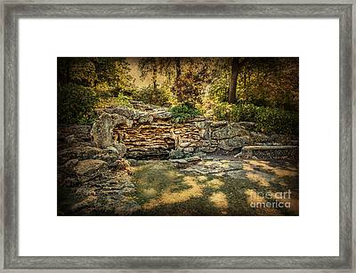 Woodard Park Koi Pond Framed Print by Tamyra Ayles