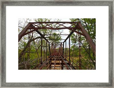 Woodburn Bridge Indianola Ms Framed Print