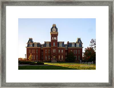 Framed Print featuring the photograph Woodburn Hall Late Afternoon Sun by Dan Friend