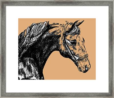 Woodbury Taupes Framed Print by JAMART Photography
