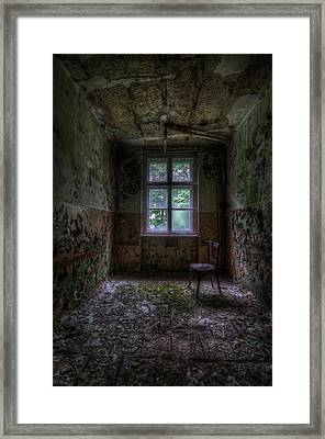 Wooden Chair Room Framed Print by Nathan Wright