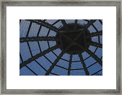 Wooden Dome Framed Print