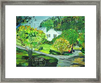 Wooden Duck Inn Framed Print