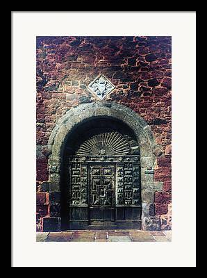 Castle Gates Framed Prints