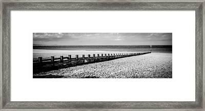 Wooden Groyne Framed Print