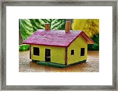 Wooden House Framed Print by Milan Karadzic