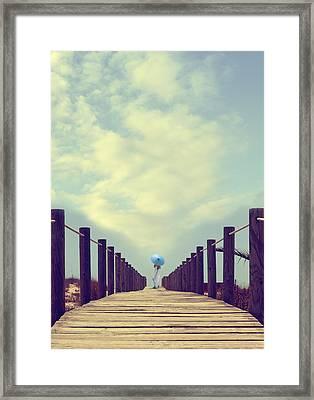 Wooden Jetty Framed Print