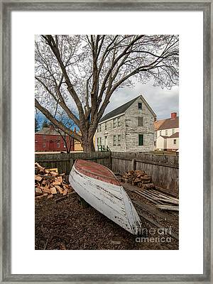 Wooden  Framed Print by Scott Thorp