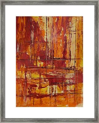 Wooden Ships Framed Print
