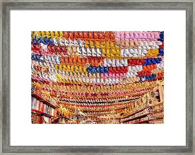 Framed Print featuring the photograph Wooden Shoes by Brent Durken