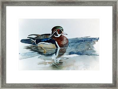 Woodie Framed Print by Lynne Parker