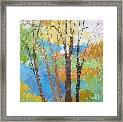 Woodland #1 Framed Print by Melody Cleary