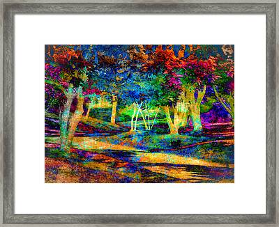 Woodland Gem Framed Print