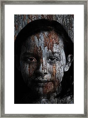 Woodland Princess Framed Print
