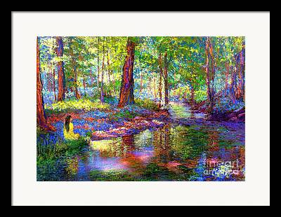 Solitude Paintings Framed Prints