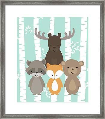 Woodland Framed Print by Tamara Robinson