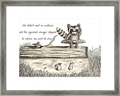 Woodland Whimsy 1 Framed Print by D Renee Wilson