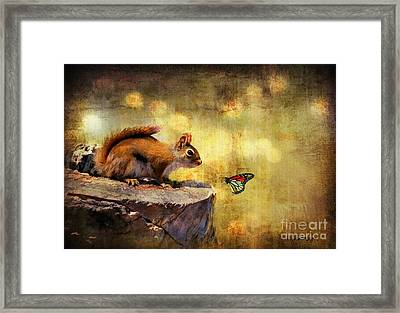 Woodland Wonder Framed Print by Lois Bryan