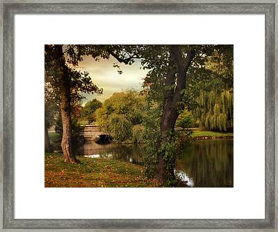 Woodlawn Reflections Framed Print by Jessica Jenney