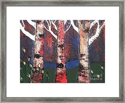 Woodlin Framed Print by Amy Sorrell