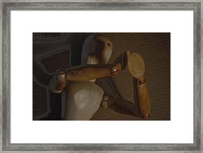 Woodmaan Framed Print