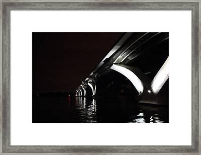Woodrow Wilson Bridge - Washington Dc - 011319 Framed Print by DC Photographer