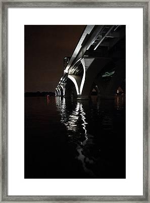 Woodrow Wilson Bridge - Washington Dc - 011320 Framed Print by DC Photographer