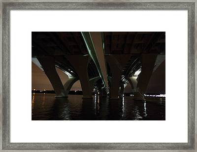 Woodrow Wilson Bridge - Washington Dc - 011330 Framed Print by DC Photographer