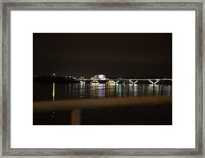 Woodrow Wilson Bridge - Washington Dc - 011341 Framed Print by DC Photographer