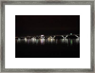 Woodrow Wilson Bridge - Washington Dc - 011344 Framed Print by DC Photographer