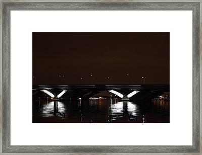 Woodrow Wilson Bridge - Washington Dc - 011363 Framed Print