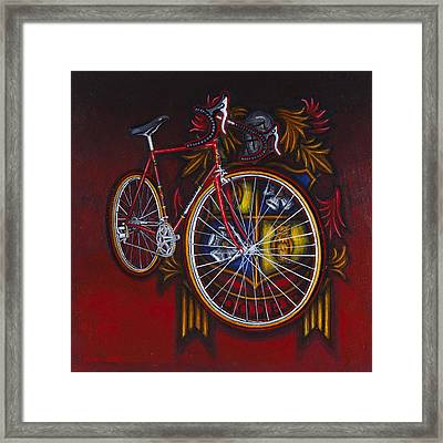 Woodrup Team 75 Framed Print