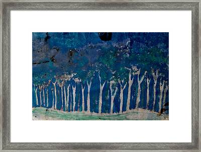 Woods From Himalayan Forest Framed Print