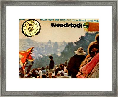 Woodstock Cover 1 Framed Print by Marcello Cicchini